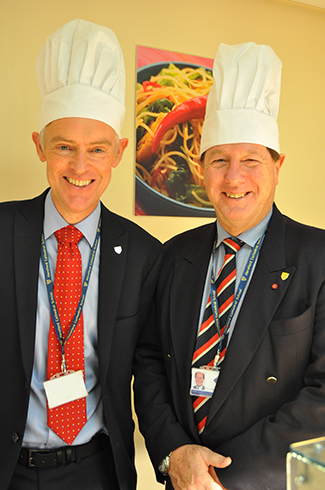 HCS Head with chef's hat on