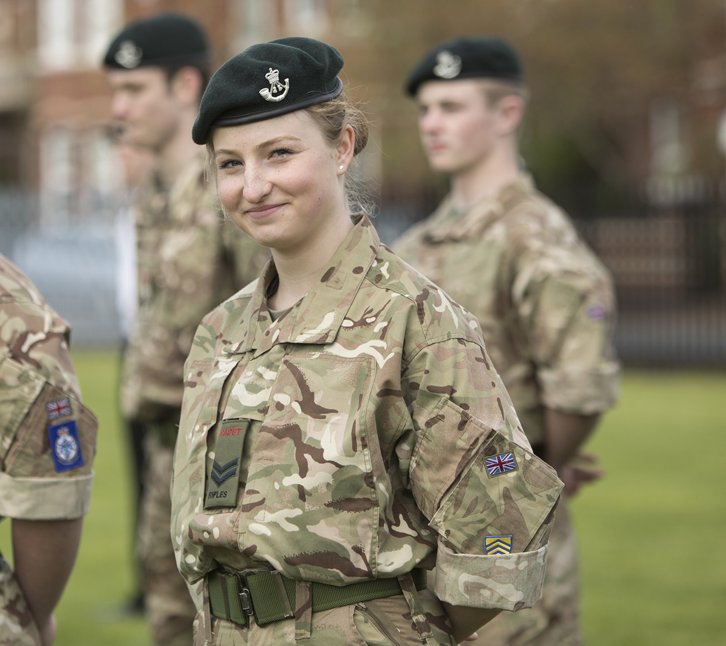 CCF Army dinner celebrates 40 years of female cadets