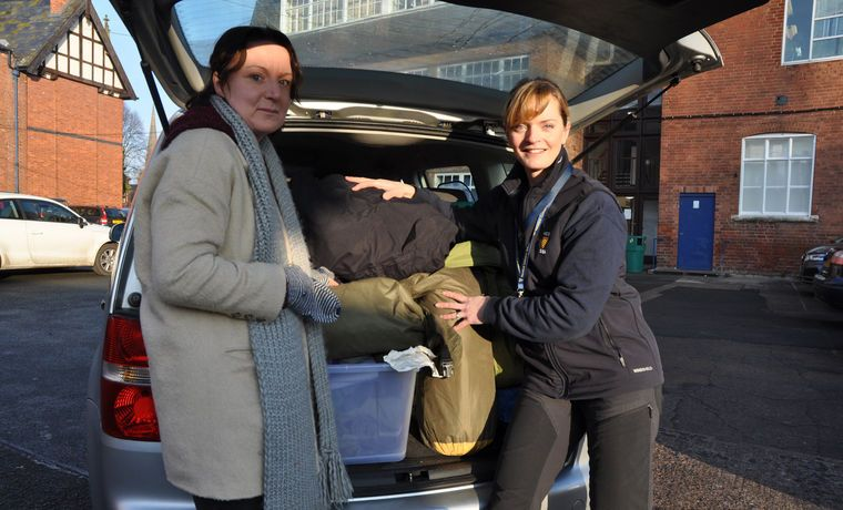 CCF donates tents and clothing to Syrian refugees