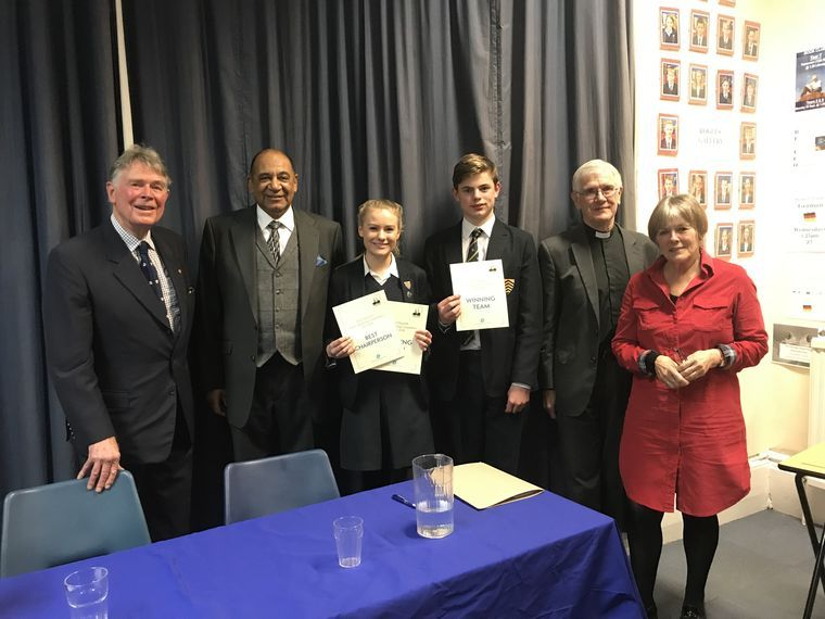 HCS win Herefordshire round of public-speaking competition