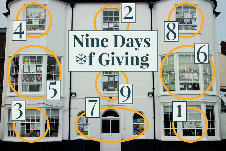 Nine Days of Giving at HCJS