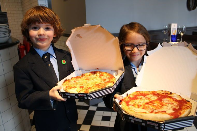 Reception Visit Pizza Express Hereford Cathedral School