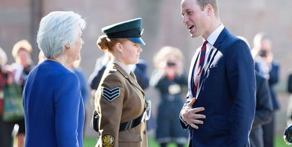 Prince William in Hereford