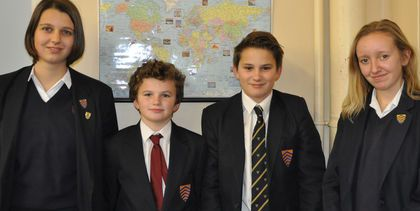 HCS geography quiz team