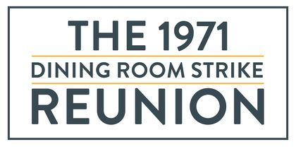 The 1971 Dining Room Strike Reunion