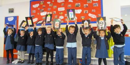 Fireworks fun in the HCJS Nursery