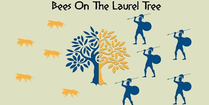 Bees on the Laurel Tree