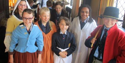 Year 4 at the Old House