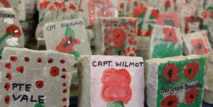 Remembrance rocks project