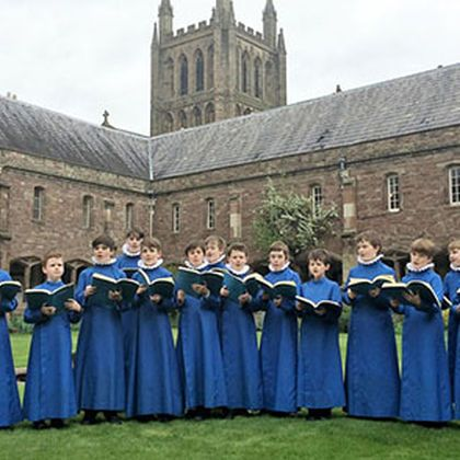 Hereford Cathedral Choristers
