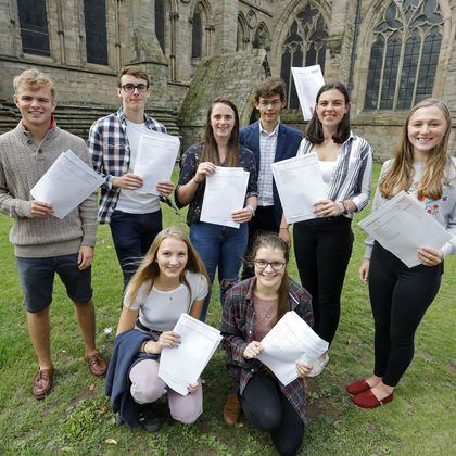 A Level results at HCS