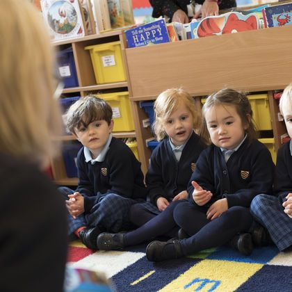 Nursery pupils