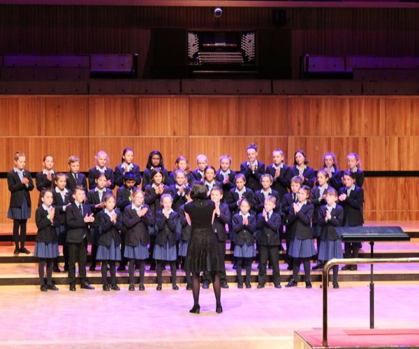 Chamber Choir at Barnardos