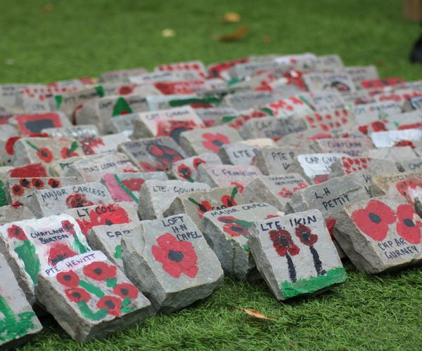 Rocks at Remembrance