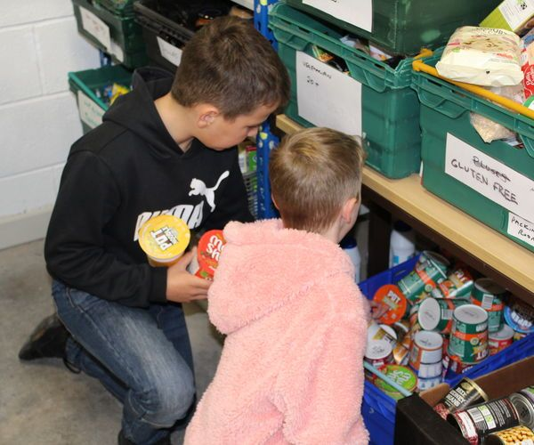 Food Bank Project My Favourite Thing Was That I Got To