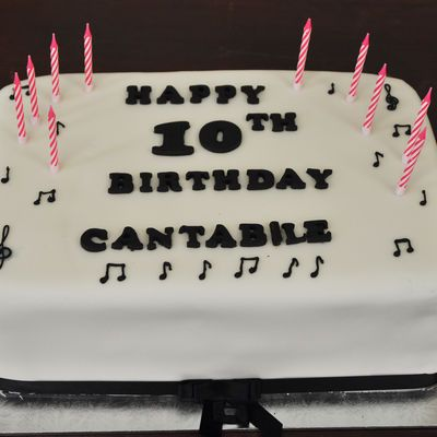Cantabile 10th birthday
